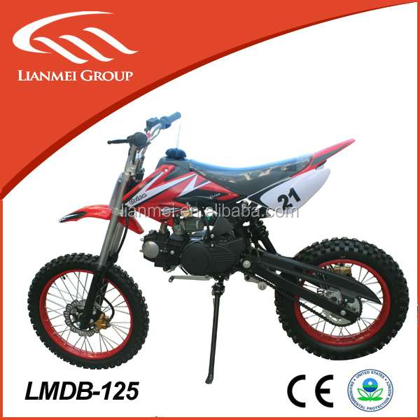 125cc racing dirt bike sale cheap kid dirt bike with kick starter