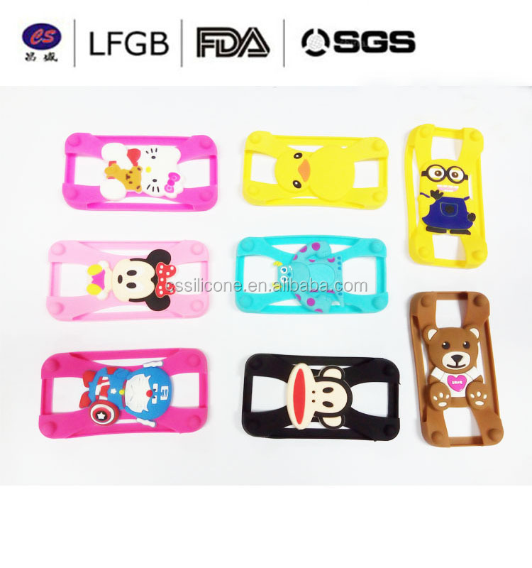 Promotional Universal Cute elephone 3d custom silicone phone case