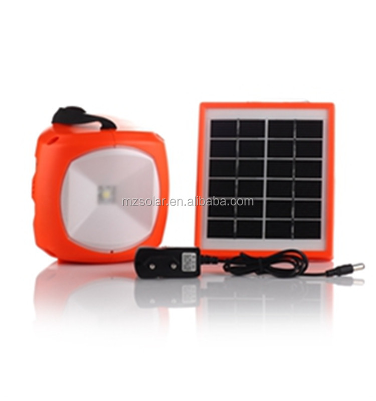 1w SUPER BRIGHT LED Rechargeable portable solar tent lights Camping Lantern camping lantern with CE