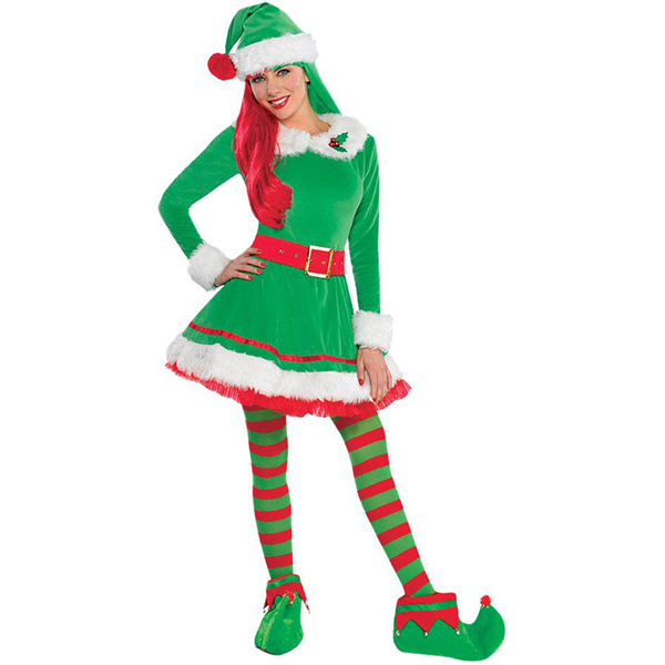 2017 new arrival christmas elf costumes