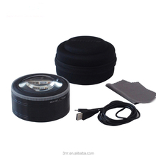 Home use portable led magnifier with brightness asjustable