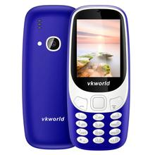 2017 New 3310 Mobile Phone VKWORLD Z3310 Dual Sim 2.4'' QCIF 240*320 Cheap Cell Phone 1450mAh 32M+32M Camera Support FM