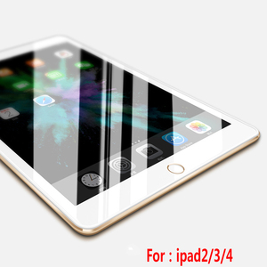 Tempered Glass Film Screen Protector For Apple IPad air 2,for ipad 2 3 4 6 screen protector
