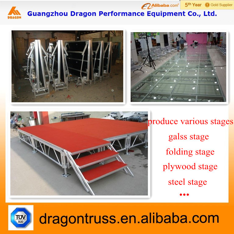 Portable stage equipment dj truss system buy portable for Cheap truss systems