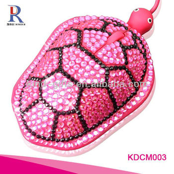 fashionable bling rhinestone computer mouse