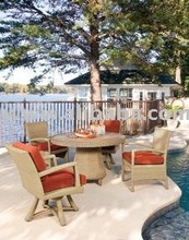 Synthetic Rattan Furniture Set w/ 4 chairs