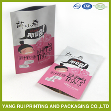 Manufacturer bright finish healthy food foil pouch