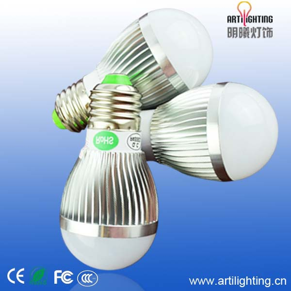 High luminous efficiency led bulb lamp r80 e27