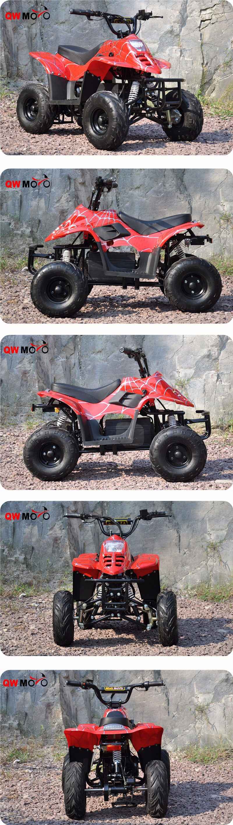QWMOTO CE NEW ELECTRIC CHILDREN ATV 500W 48V BRUSHLESS ADULTS ELECTRIC ATV FOR SALE(QWMATV-01D)