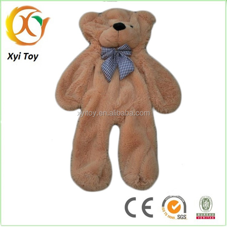 Low price wholesale soft plush toy unstuffed animal skins