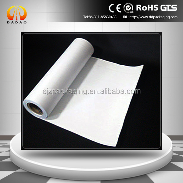 white opaque biaxially oriented polyester film