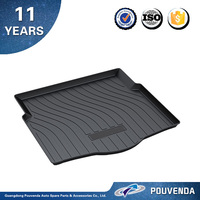 auto parts OE style Rear trunk mat for Chevrolet series,car mat accessories for Cruze/EPICA /SAIL /MALIBU