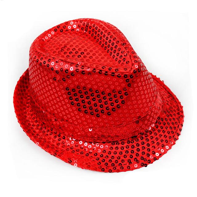 Top Sale New Design Sequin Fedora Party Hats