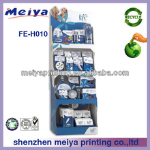 High quality retail product cardboard shop display for Electric Households/Office