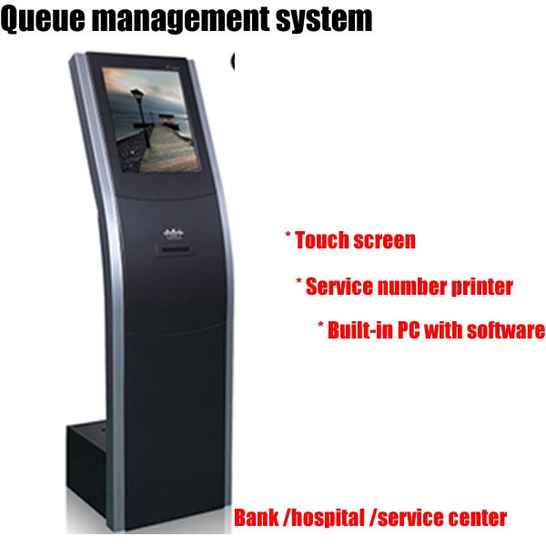 Bank/ Restaurant/ Hospital &Clinic/ Airport Lcd Queue Management Machine