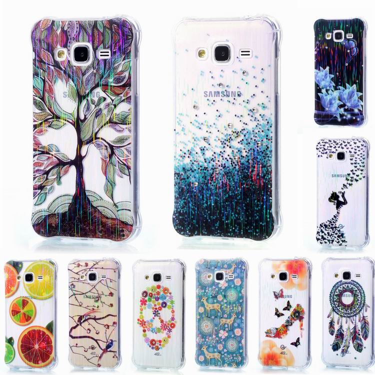 J3 TPU Diamond Phone Cover,Protective Shell Case For Samsung Galaxy J3 Pro