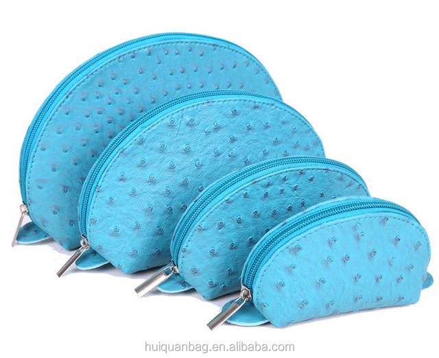 OEM makeup bag custom leather toiletry bag beautiful gift bags for cosmetic