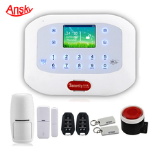 Phone sms alert self monitoring wireless alarm system