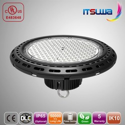Black Strong Shell LED high bay light 70w/100w/150w/200w for factory/industry/warehouse