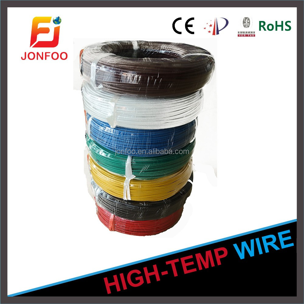 ELECTRICAL COPPER TYPE 200C FLEXIBLE WIRE AWM SILICONE STRAND TINNED UL3172 LOW VOLTAGE COMPUTER CABLE