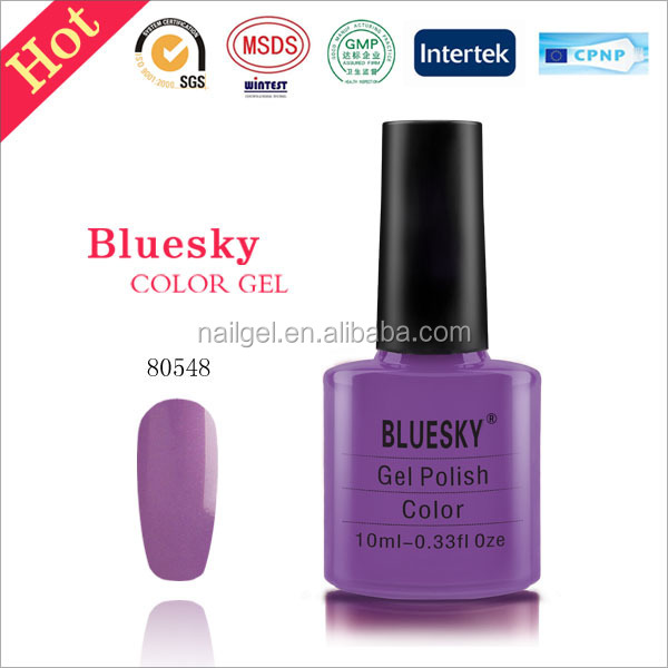 bluesky Soak Off gel ,UV LED Gel Nail Polish 80547