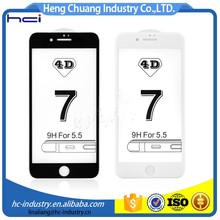 Factory sales directly silicone screen protector replacement for iphone 7 screen protector