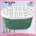 Eco-Friendly 2016 new-design oval storage basket portable with lips