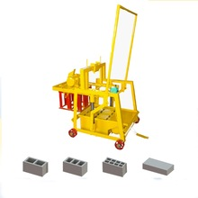 QMY2-45 egg laying concrete hollow brick making machine in Philippines