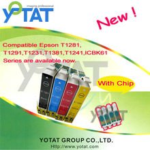 for Epson T1961/T1971 T1962 T1963 T1964 refillable ink cartridge with printers Epson XP-101 XP-201 XP-401