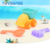 Kids Summer Toy New Soft Plastic Sand Beach Toy Set Bag
