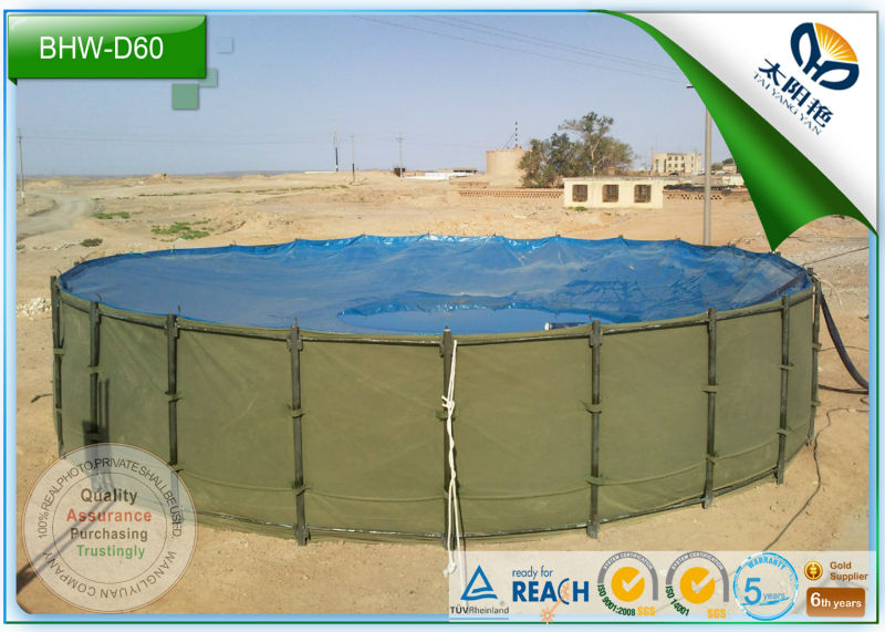 heavy duty biogas slurry fertilizer storage tank