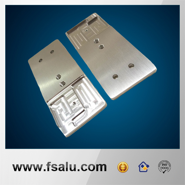 precision aluminum milling machine part