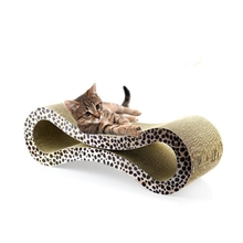 Amazon Hot Selling Classical Eight Shape Cat Furniture Cat Scratching Post CT-4039