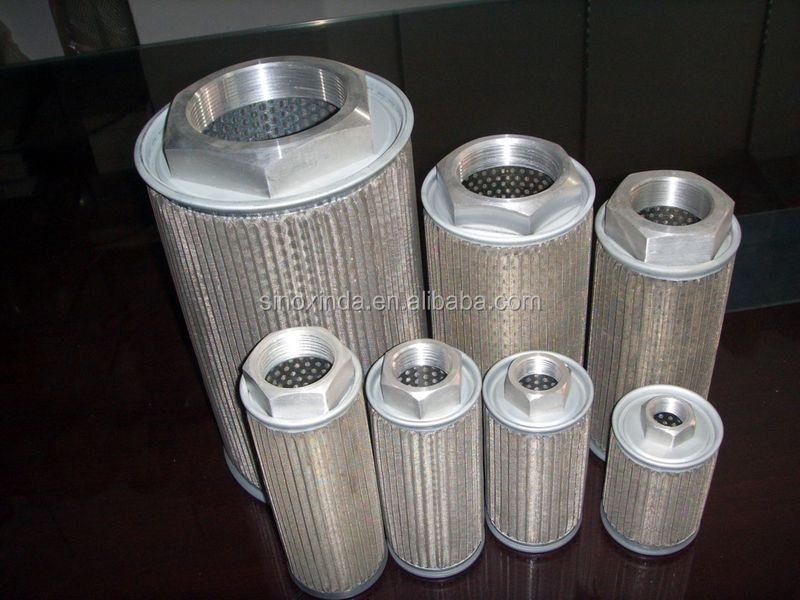 XXFT 5 micron stainless steel pleat filter element with korea sintering technology