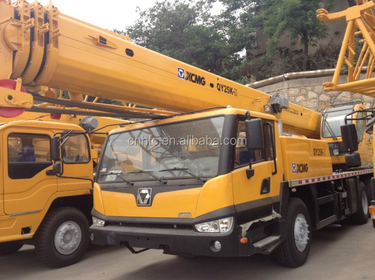 XCMG 25 Ton Truck Crane For Sale In China, XCMG Qy25K Used Crane