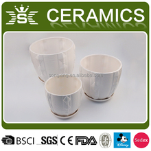round large ceramic flower pots with pedestal wholesale