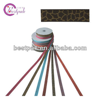double face nylon satin ribbon colorful for holiday decorative