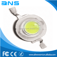 High bright 110-120M warm white white 1W led