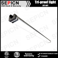 100w LED Tri Proof diffuser/IP65 fluorescent light fixture/Tri-Proof LED Light