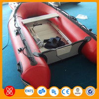 Good designer! Inflatable Korea 0.9mm PVC material boat inflatable