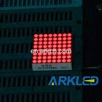 ARK hot sals, 0.7'' 8x8 Dot Matrix LED Display Full Color, samll led screen