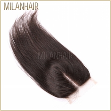 Best Selling Lace Closure Top Quality Smooth And Soft Virgin Brazilian Straight Hair Silk Base Closure 5X5