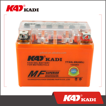 KADI motorcycle gel battery YTX4L-BS