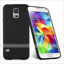 Wholesale Black TPU protective phone case for Samsung Galaxy S5, Back Cover Case For Samsung