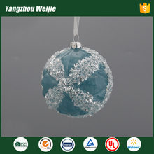 new design christmas ball ornament import of glass craft