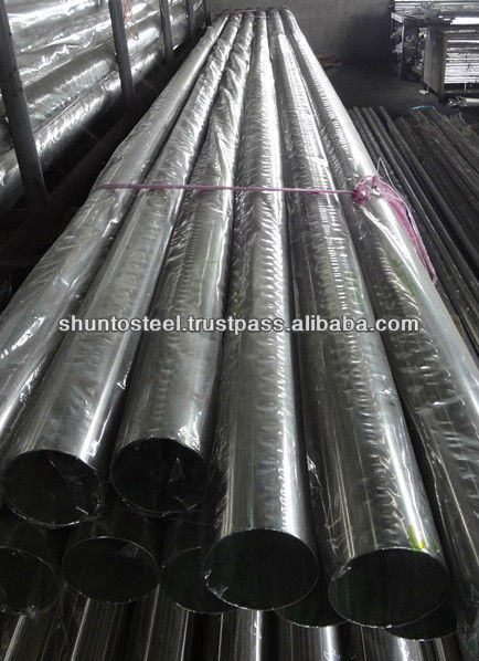 "5""/6"" Stainless Steel Round Pipe"