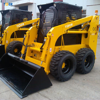 TIDER mini Chinese skidsteer loader compact skid steer loader with good quality