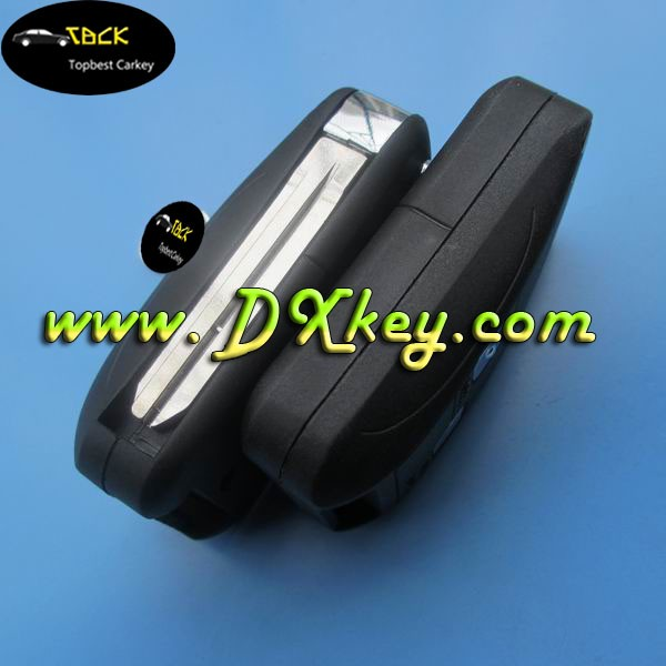 2 buttons modified car remote key holder for Toyota key cover