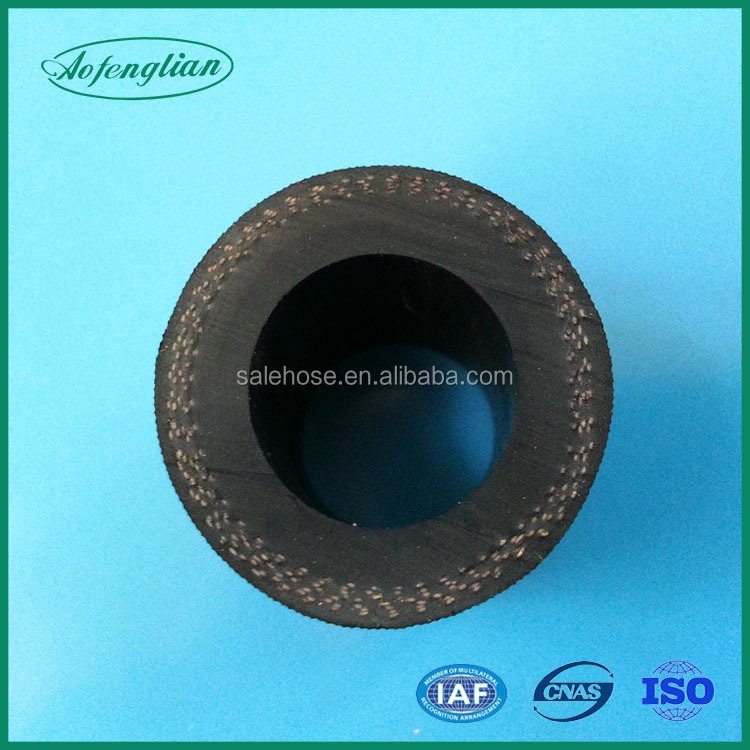 Steam hose fabric cover heat resistance silicone rubber hose