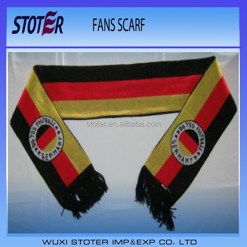 Germany flag soccer football match fans scarf